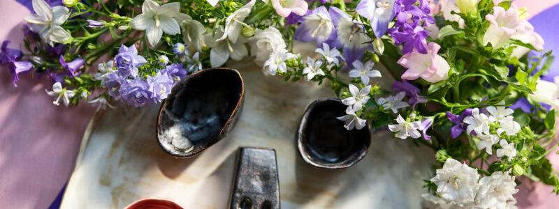 Blumensträuße mit Freude verschenken.